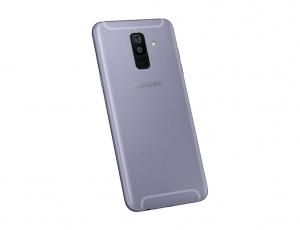 Samsung A605 Galaxy A6 PLUS kryt baterie + boční tlačítka + flexy + sklíčko kamery - barva Light Purple