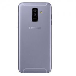 Samsung A600 Galaxy A6 (2018) kryt baterie + boční tlačítka + flexy + sklíčko kamery - barva Light Purple