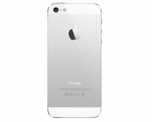 Kryt baterie + střední iPhone 5S originál barva white