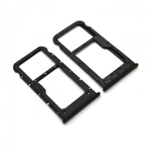 Držák (šuplík) SIM Huawei P SMART černá