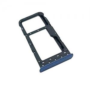 Držák (šuplík) SIM Huawei P SMART modrá
