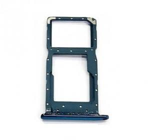 Držák (šuplík) SIM Huawei P SMART (2019) modrá