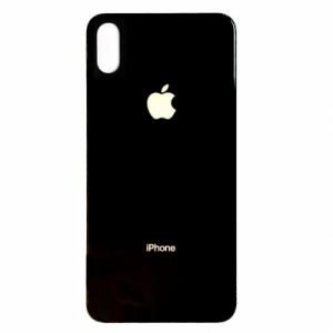 Kryt baterie + lepítka iPhone X barva black