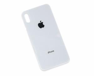Kryt baterie + lepítka iPhone X barva white