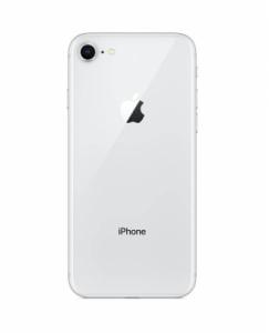 Kryt baterie + lepítka iPhone 8 (4,7) barva white / silver