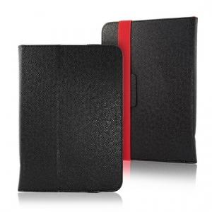 """Pouzdro na tablet 10"""" Orbi, barva černá/červená"""