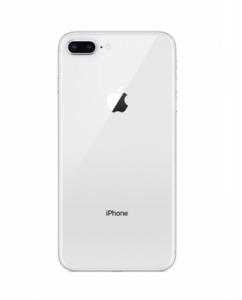 Kryt baterie + lepítka iPhone 8 PLUS (5,5) barva white / silver