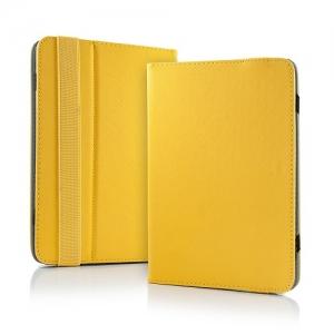 """Pouzdro na tablet 10"""" Book, barva žlutá"""