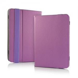 """Pouzdro na tablet 10"""" Book, barva fialová"""