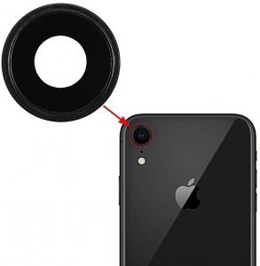 Sklíčko zadní kamery iPhone XR (6,1) + rámeček černá