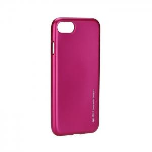 Pouzdro MERCURY i-Jelly Case METAL Huawei MATE 10 Lite růžová