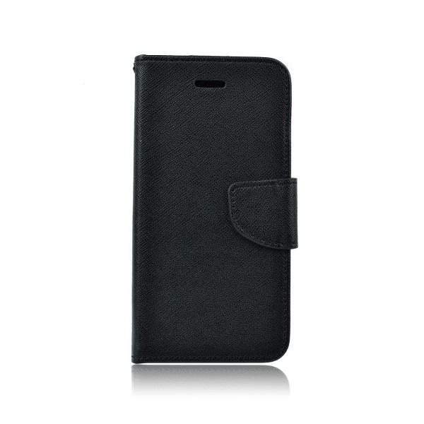 Pouzdro FANCY Diary Huawei Y7 2019 barva černá