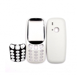 Nokia 3310 (2017) kryt kompletní bez klávesnice, barva šedá