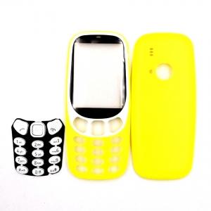 Nokia 3310 (2017) kryt kompletní bez klávesnice barva žlutá