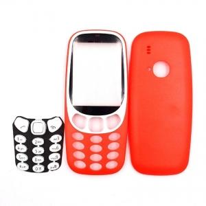 Nokia 3310 (2017) kryt kompletní bez klávesnice barva červená