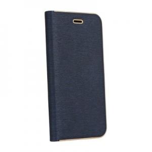 Pouzdro LUNA Book iPhone X, barva modrá