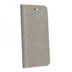 Pouzdro LUNA Book Samsung A750 Galaxy A7 (2018), barva šedá