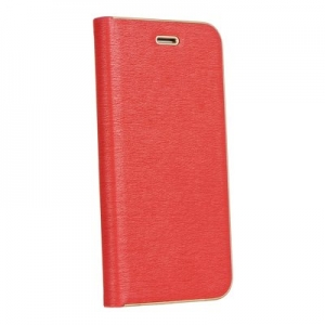 Pouzdro LUNA Book iPhone 7, 8 (4,7) barva červená