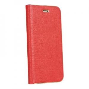Pouzdro LUNA Book Samsung A600 Galaxy A6 (2018), barva červená