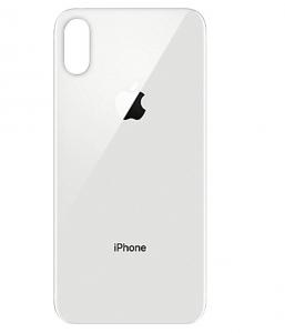 Kryt baterie + lepítka iPhone XS (5,8) barva silver
