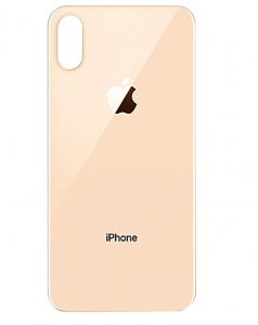 Kryt baterie + lepítka iPhone XS (5,8) barva gold