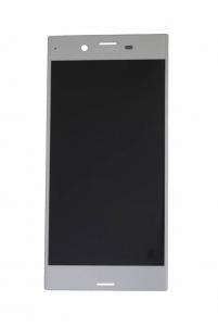 Dotyková deska Sony Xperia XZ F8331 + LCD stříbrná
