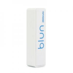 Externí baterie POWER BANK BLUN ST-206, 2600mAh bílá