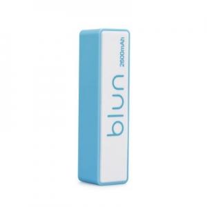 Externí baterie POWER BANK BLUN ST-206, 2600mAh modrá