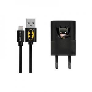 Cestovní nabíječ Licence Batman (003) iPhone 5, 5S, 5C, 6, 6 Plus, 7, 7PLUS
