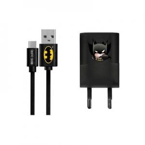 Cestovní nabíječ Licence Batman (003) micro USB TYP C