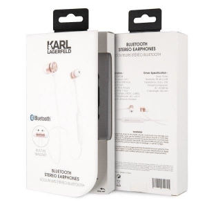 Bluetooth headset KARL LAGERFELD CGBTE09 barva rosegold