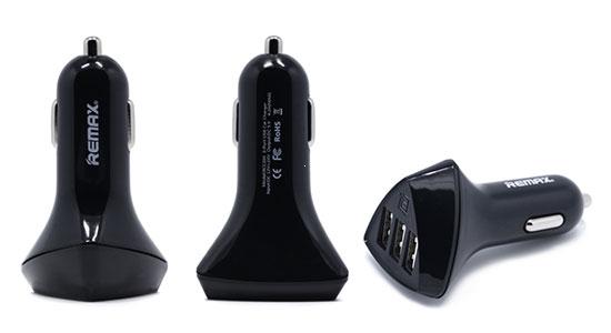 CL adaptér REMAX RCC-304 Aliens 3xUSB 4,2A barva černá