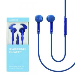 Samsung EO-EG920 Headset Stereo 3,5mm jack (blistr) barva modrá