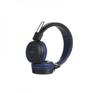 Bluetooth headset HOCO Cool motion W16 barva modrá