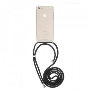 Pouzdro Forcell CORD Samsung A405 Galaxy A40, barva transparent + černá šňůrka
