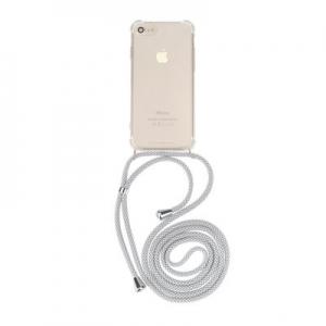 Pouzdro Forcell CORD Samsung A405 Galaxy A40, barva transparent + bílá šňůrka