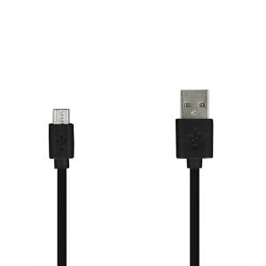 Datový kabel Micro USB, barva černá, 2 metry