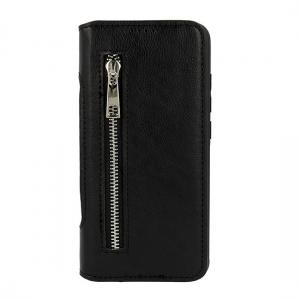 Pouzdro Business Zip Samsung G965 Galaxy S9 Plus, barva černá