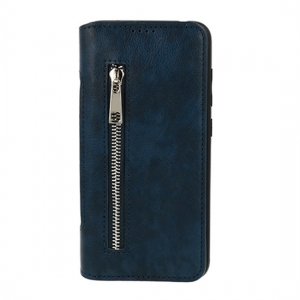 Pouzdro Business Zip Samsung J610 Galaxy J6 Plus, barva tmavě modrá