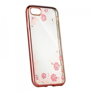 "Pouzdro Back Case FLOWER iPhone 11 Pro Max (6,5""), barva rose gold"