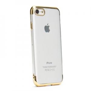Pouzdro Jelly Case ELECTRO RING Huawei Y7 (2019), barva gold