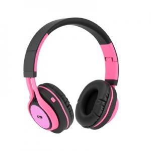 Bluetooth headset AP-B04, barva růžová