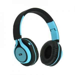 Bluetooth headset AP-B04, barva modrá
