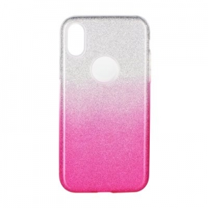 Pouzdro Back Case Shining Huawei Y6 2019, barva růžová