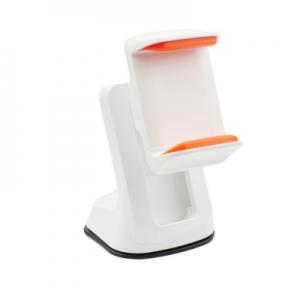 Držák do auta Car Mount Holder - bílá/oranžová - na palubní desku