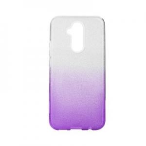 Pouzdro Back Case Shining iPhone XS Max (6,5), barva fialová