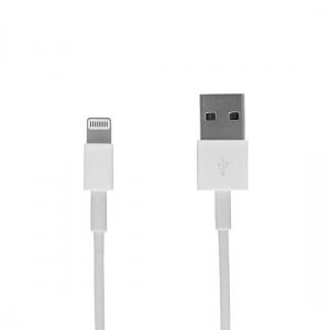 Datový kabel iPhone Lightning, barva bílá - 3 metry