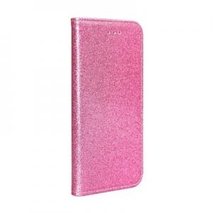 Pouzdro Shining Book Samsung A105 Galaxy A10, barva růžová