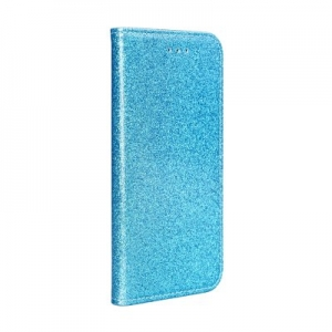 Pouzdro Shining Book Samsung A405 Galaxy A40, barva modrá