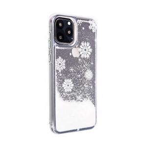 Pouzdro Winter Huawei P Smart (2019), vzor Snow